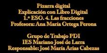 Matemáticas: Libro Digital con Pizarra Digital, Ana, Fracciones