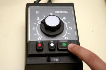 Botón de inicio del temporizador