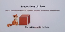 ENGLISH WITH SARAH - PREPOSITIONS OF PLACE AND MOVEMENT