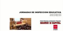 Jornada Inspección Educativa CAM 23,24 Mayo 2018 - Fernando Vilches 1