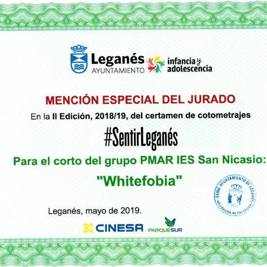 Diploma Cortometraje Whitefobia PMAR 2019