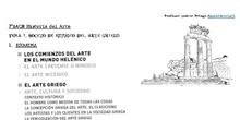 BOCETO DE ESTUDIO Arte griego 2ºBACH Historia del Arte