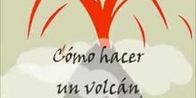 Cómo hacer un volcán