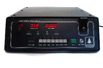 Consola radiación laser