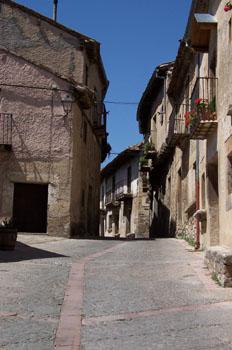 Calle de Pedraza, Segovia, Castilla y León