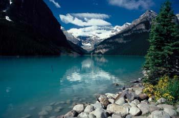 Agua de deshielo, Montañas Rocosas (Canadá)