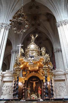 Capilla del Santo Cristo, Seo de Zaragoza