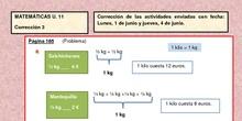 MATEMÁTICAS U.11 Corrección 3