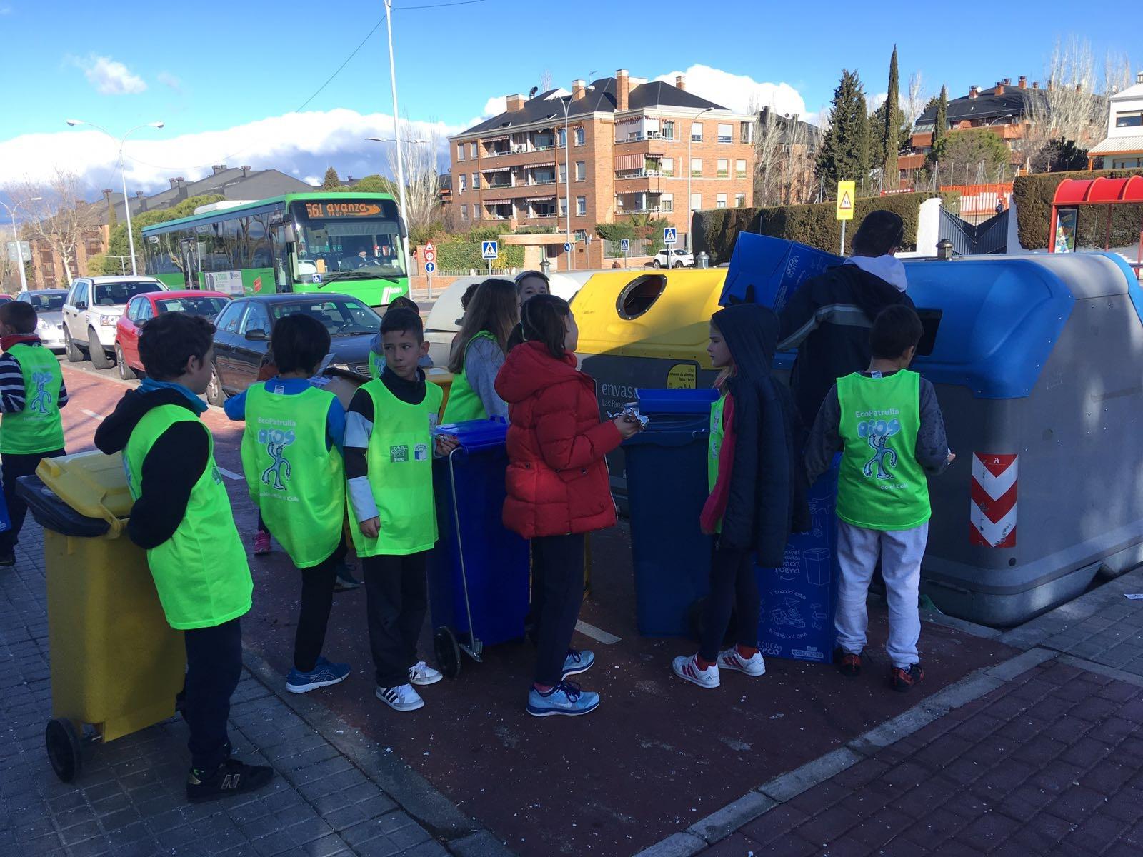 2018_02_EcoPatrullas reciclando_CEIP Fernando de los Ríos_Las Rozas 5