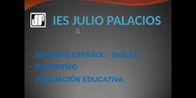 VISITA GUIADA IES JULIO PALACIOS 2020/21