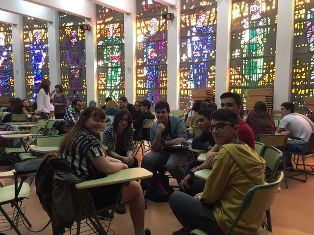 Visita al instituto de alumnos del instituto de secundaria 'Gimnasium Kalundborg' de Dinamarca