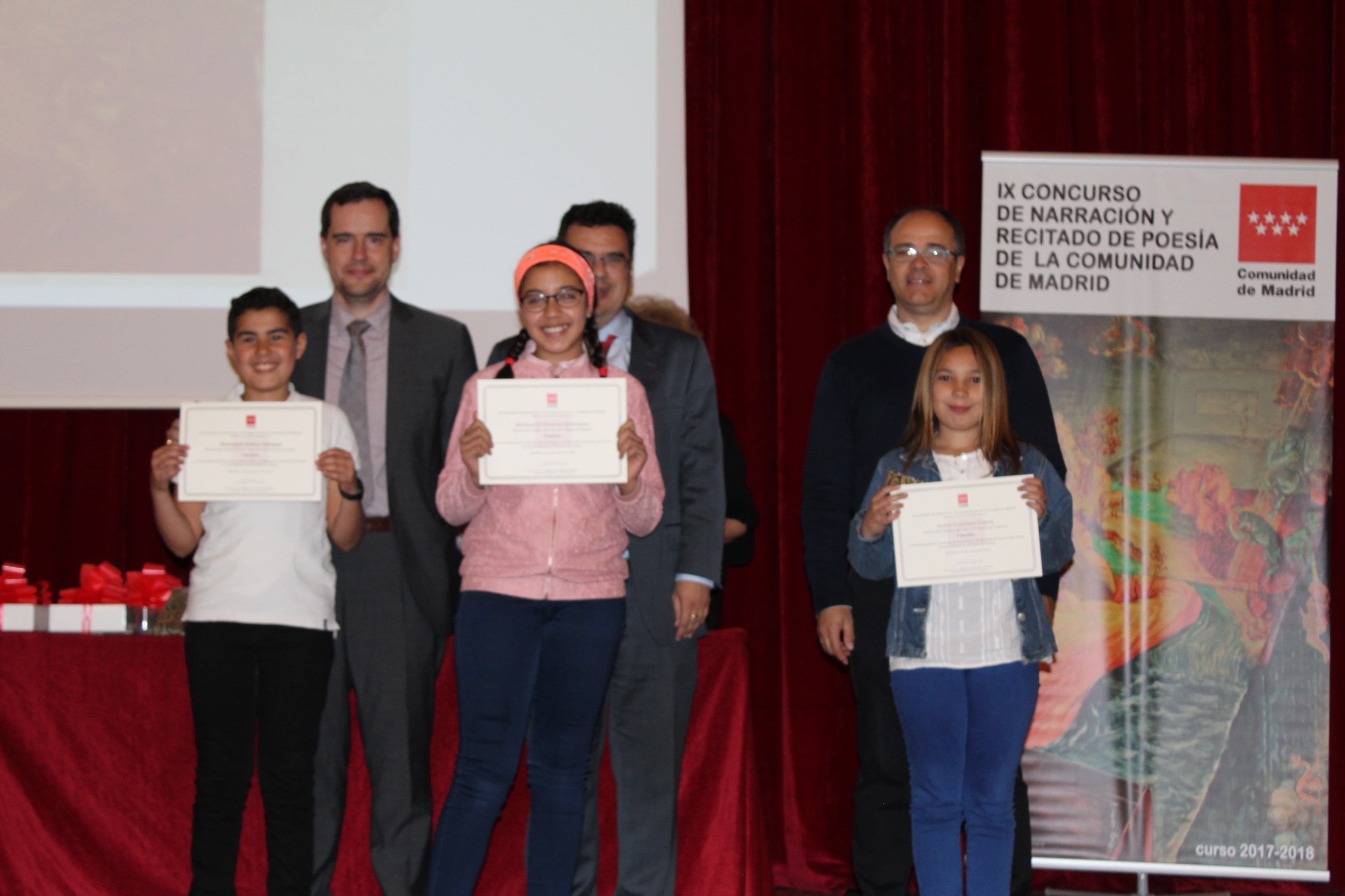 Entrega de los premios del IX Concurso de Narración y Recitado de Poesía 20