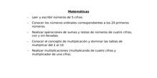 Criterios de Promoción - 3º Primaria