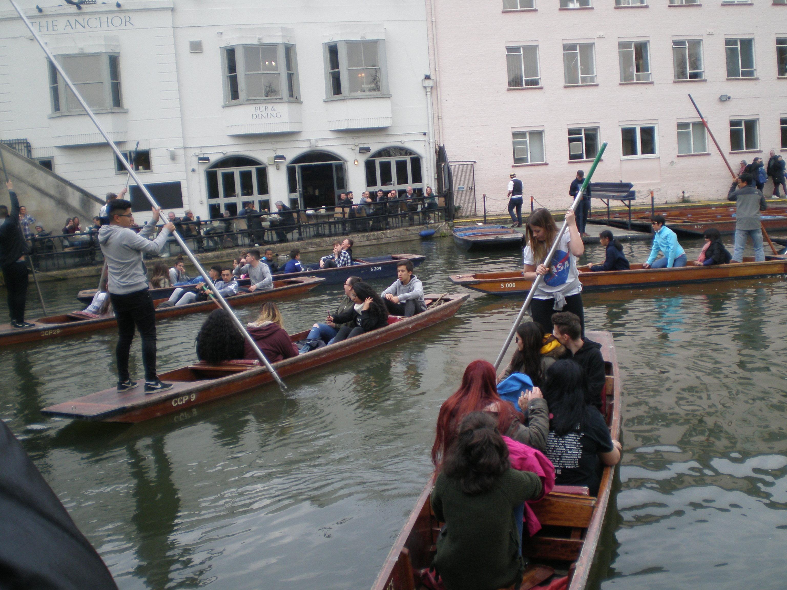 Inmersión lingüística en inglés en Cambridge 7