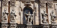 Detalle de la fachada de la Catedral de Jaén, Andalucía