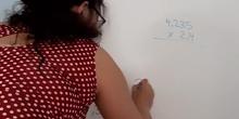 Multiplicar números decimales 3°
