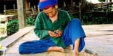 Hombre trabajando, Tailandia