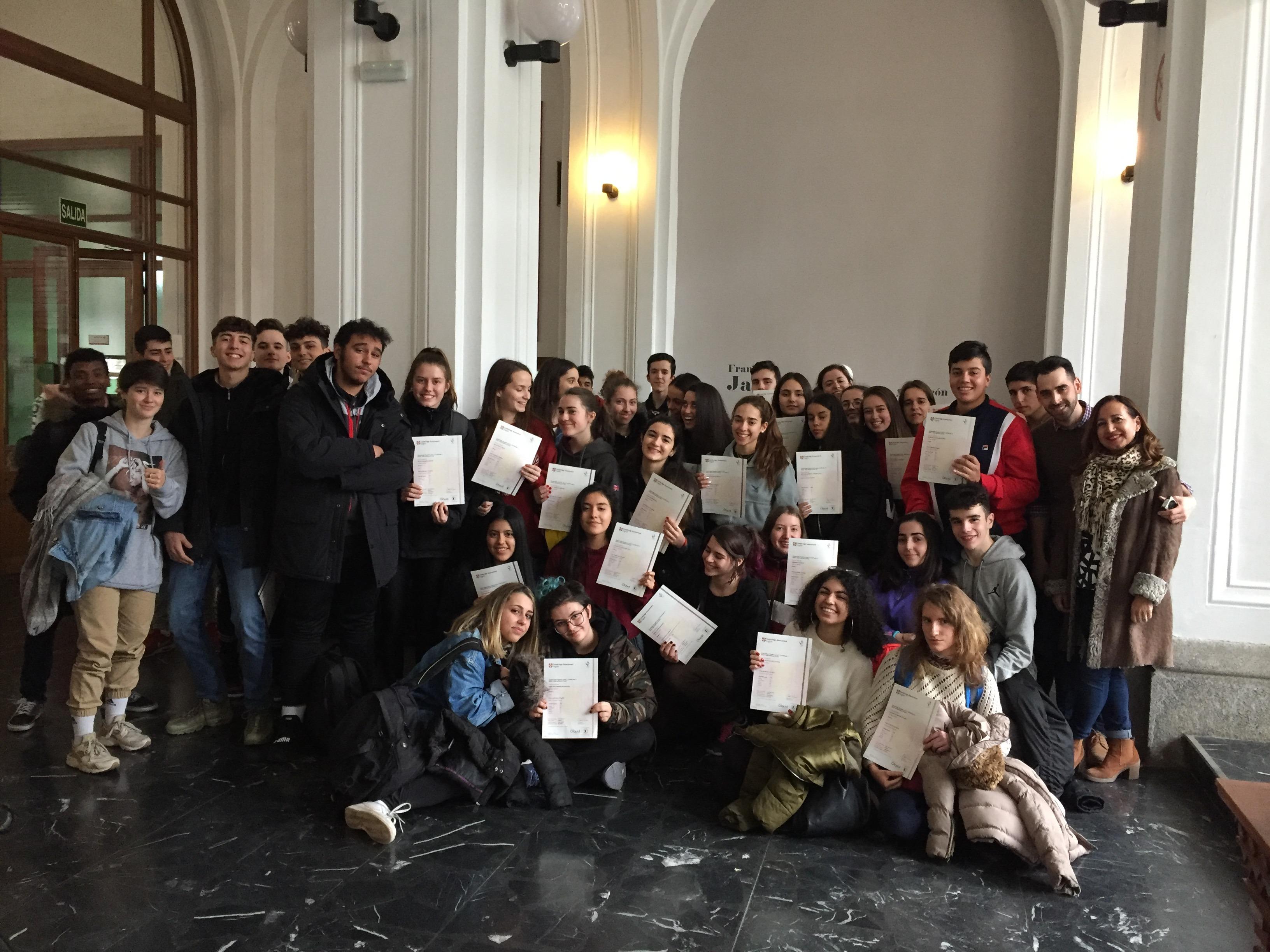 Certificados Cambridge 2018 6