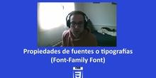 CSS3 - Propiedad Fuentes (Family-font)