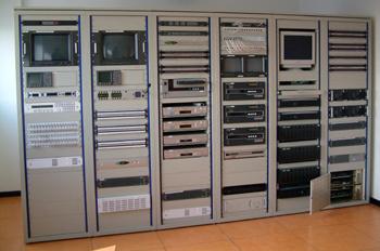 Sala de control de televisión
