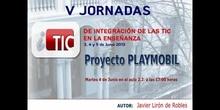 """Ponencia de D. Javier Lirón de Robles: """"Proyecto PLAYMOBIL"""""""