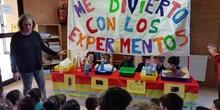 Semana Cultural 2015/2016. Experimentos Ed. Infantil 3