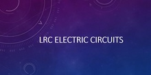 LCR circuits