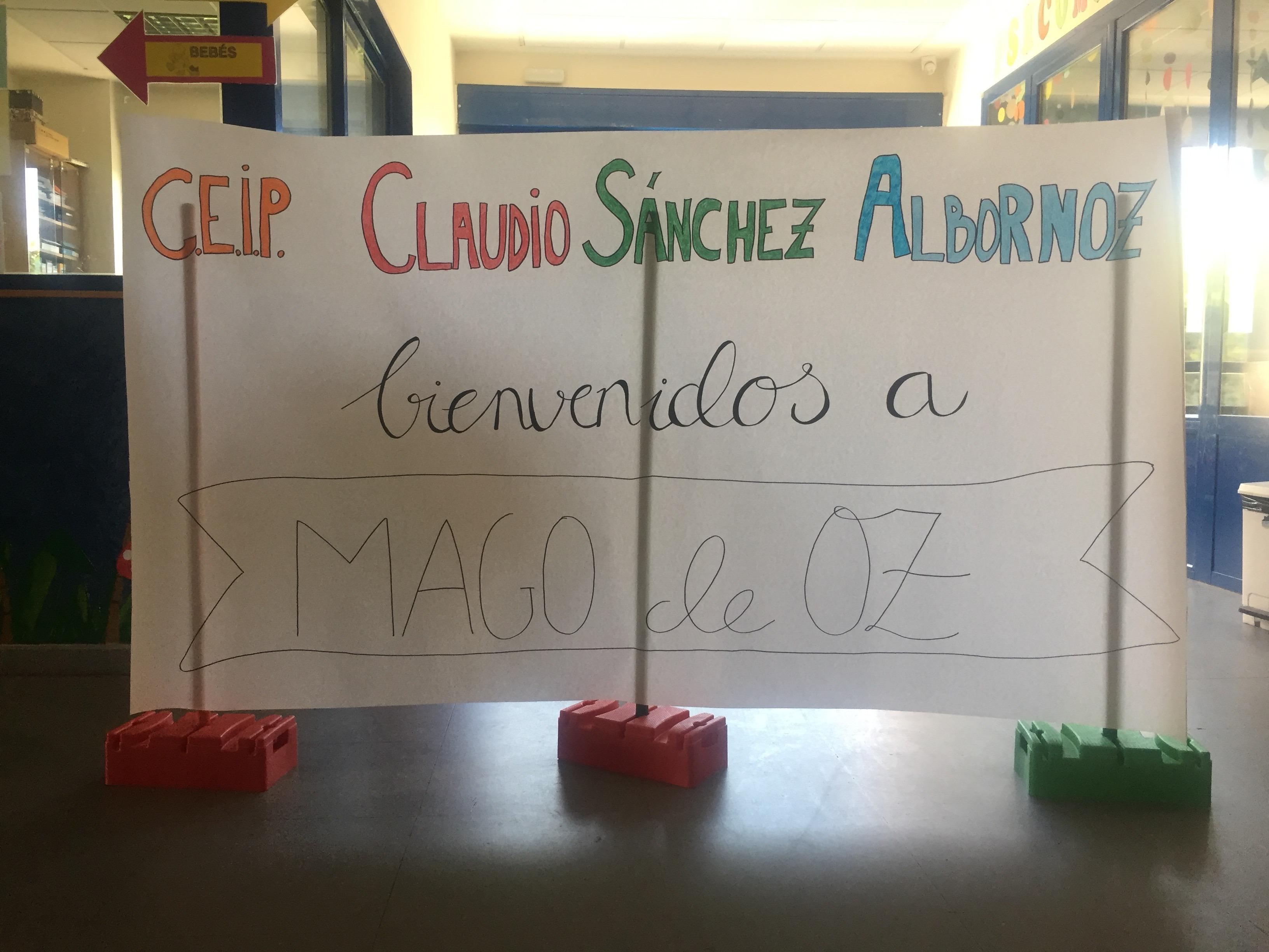 CUENTACUENTOS DE 5º PRIMARIA EN LA ESCUELA INFANTIL MAGO DE OZ (I)