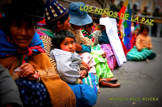 Infancia en La Paz