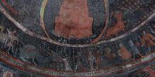 Pinturas románicas, Iglesia de Santa Marina, Sacramenia, Segovia