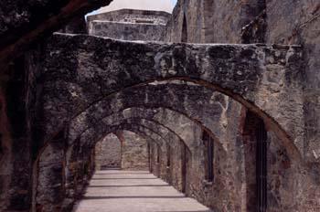 Arquería de una edificación antigua