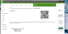 Use of QR code in flipped classroom