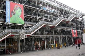 Museo de Arte Moderno - Centro Georges Pompidou, París, Francia