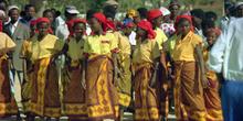 Mujeres bailando, Nacala, Mozambique