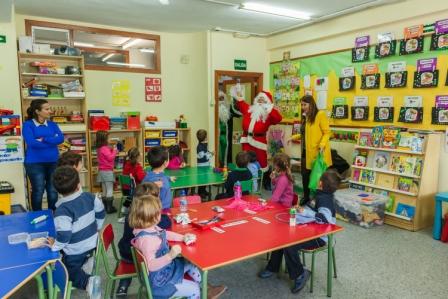 Los RRMM y Papá Noel en INF 4A 3