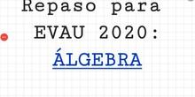 EVAU 2020 MATES II ALGEBRA 4