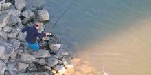 Pescador en Budapest, Hungría