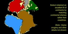 Encaje de continentes
