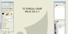 TUTORIAL GIMP Práctica 5