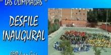 """""""OLIMPIADAS CEIP Juan Gris de Madrid"""" - Desfile Inaugural"""