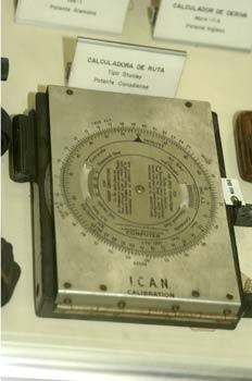 Calculadora de ruta, Museo del Aire de Madrid