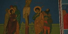 Cuadro religioso de la Iglesia de San Jorge, Madaba, Jordania