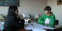 corto interview Álvaro Lorenzo y Ainhoa Armendariz