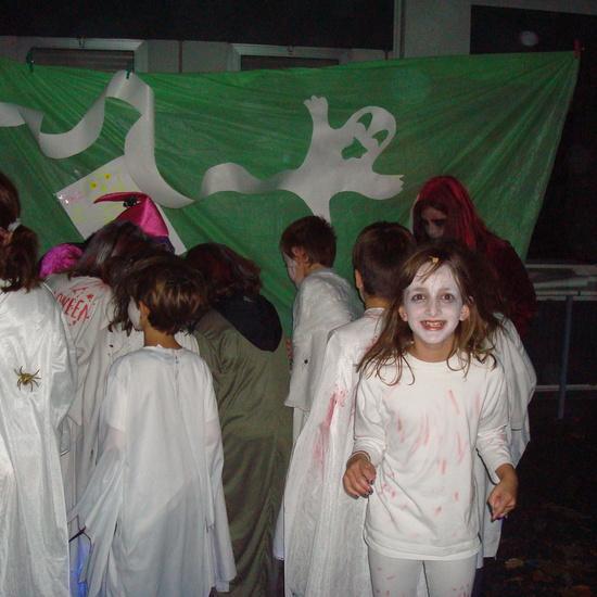 Halloween fantasmal