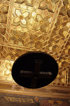 Artesonado de la sala capitular, Catedral de Toledo, Castilla-La