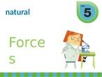 """UNIT 5 """"Forces"""""""