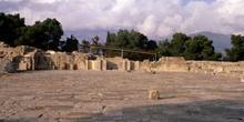Patio del Palacio de Cnosos, Creta