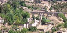 Acueducto e Iglesia de San Miguel, Pedraza, Segovia, Castilla y