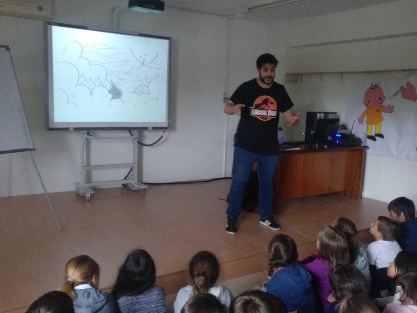 2019_04_24_Día del Libro 4º_Encuentro con Autor_CEIP FDLR_Las Rozas  4
