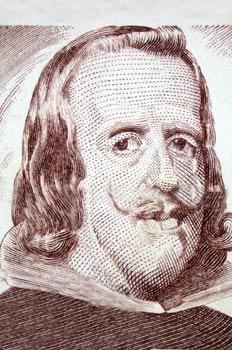 Felipe IV (sello conmemorativo de 50 pesetas, 1979)